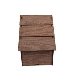 لانه چوبی شیبدار 3تایی متوسط