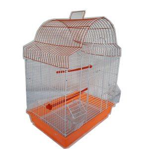 قفس دو رنگ سقف گنبدی مدلدار