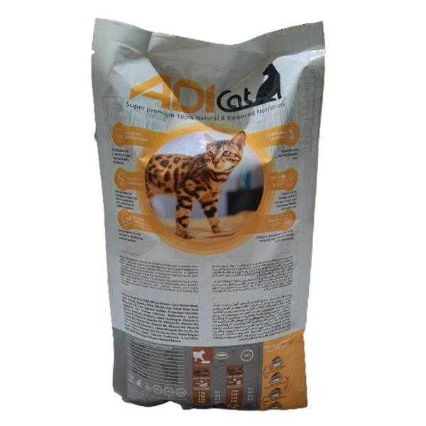 غذای گربه با طعم مرغ Adi Cat (2 Kg)
