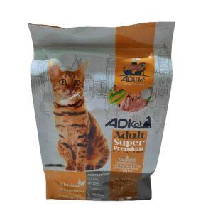 غذای گربه با طعم مرغ Adi Cat (نیم کیلویی):